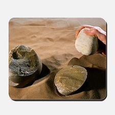 Olduwan stone tools Mousepad
