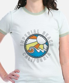 Imperial Beach Wave Badge T