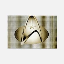Bronze Star Trek Rectangle Magnet