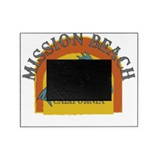 Mission Beach Sunset Fish Picture Frame