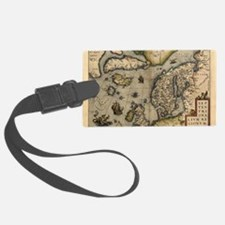 Ortelius's map of Northern Europ Luggage Tag