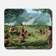 Neanderthals in summer, artwork Mousepad