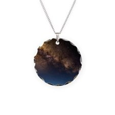 Milky way and observatories, Necklace