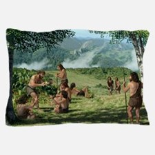 Neanderthals in summer, artwork Pillow Case
