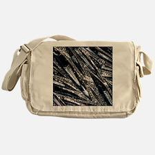 Orthoceras fossils Messenger Bag