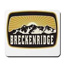 Breckenridge Sunshine Patch Mousepad
