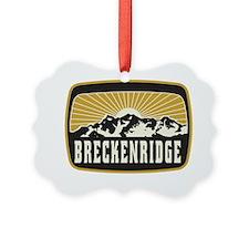 Breckenridge Sunshine Patch Ornament