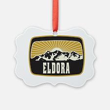 Eldora Sunshine Patch Ornament