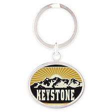 Keystone Sunshine Patch Oval Keychain
