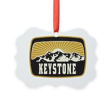 Keystone Sunshine Patch Ornament