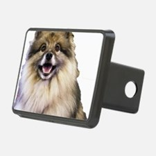 Keeshond Head Shot Hitch Cover