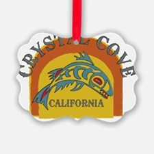 Crystal Cove Sunset Fish Ornament