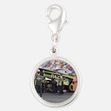 The Storm is Coming Silver Round Charm