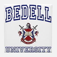 BEDELL University Tile Coaster