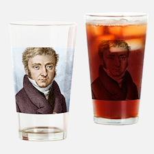 Pierre Dulong, French chemist Drinking Glass