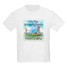 GOAT-That's Why Kids T-Shirt