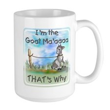 GOAT-That's Why Mug