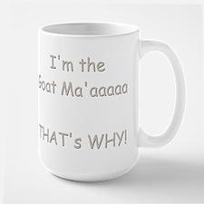 GOAT-That's Why Large Mug