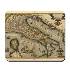 Ortelius's map of Italy, 1570 Mousepad