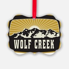 Wolf Creek Sunshine Patch Ornament