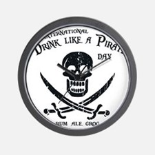 drink-pirate-LTT Wall Clock