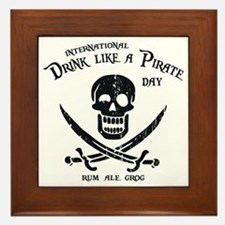 drink-pirate-LTT Framed Tile