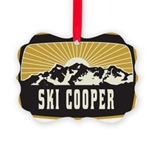 Ski Cooper Sunshine Patch Ornament