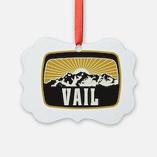Vail Sunshine Patch Ornament