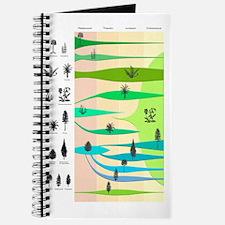 Plant evolution, diagram Journal