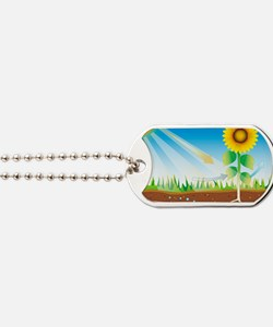 Photosynthesis, artwork Dog Tags