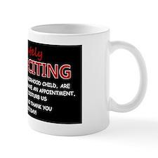 NO SOLICITING LP Mug