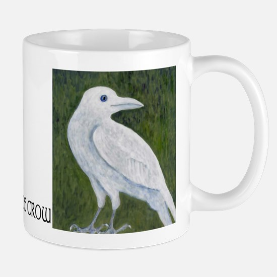 The White Crow Mug