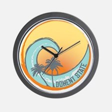 Doheny State Sunset Crest Wall Clock