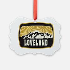 Loveland Sunshine Patch Ornament