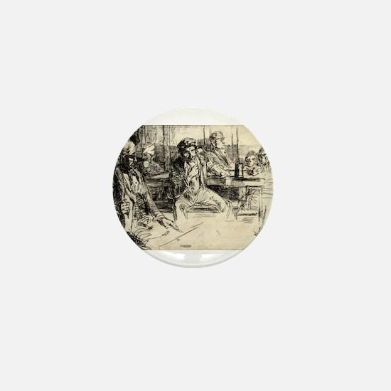 Longshoremen - Whistler - 1859 Mini Button