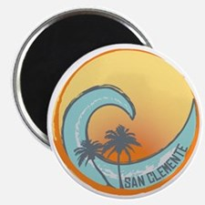San Clemente Sunset Crest Magnet