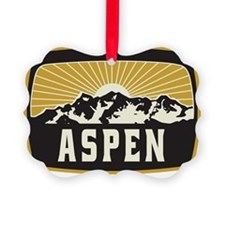 Aspen Sunshine Patch Ornament