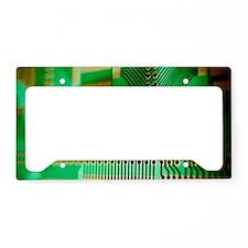 Printed circuit board License Plate Holder