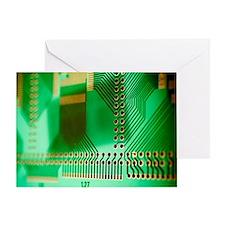 Printed circuit board Greeting Card