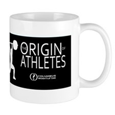 The Origin of Athletes Mug