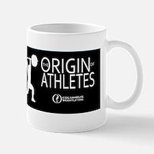 The Origin of Athletes Mug