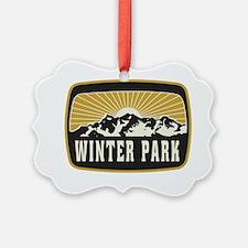 Winter Park Sunshine Patch Ornament