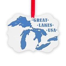GREAT LAKES USA Ornament