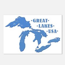 GREAT LAKES USA Postcards (Package of 8)