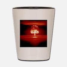Hydrogen bomb explosion Shot Glass