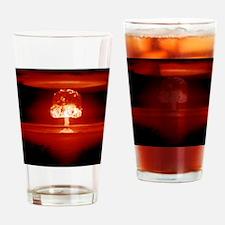 Hydrogen bomb explosion Drinking Glass
