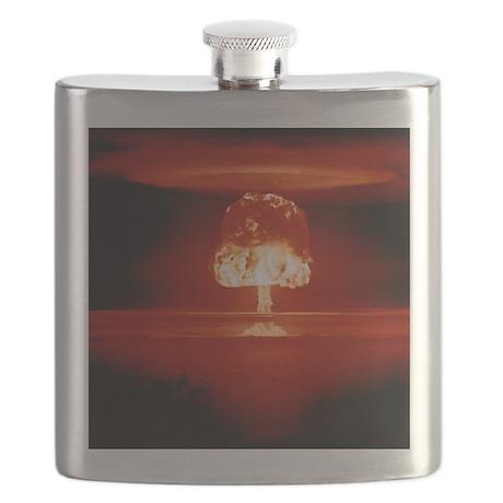 Hydrogen bomb explosion Flask
