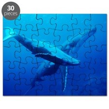 Humpback whale mother and calf Puzzle