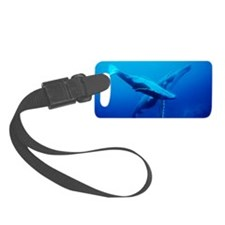 Humpback whale mother and calf Luggage Tag
