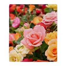 Roses Throw Blanket